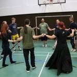 Tanztraining für Mittelaltertänze des Morkan e.V
